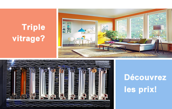 d couvrez les prix des ch ssis triple vitrage guide r novation. Black Bedroom Furniture Sets. Home Design Ideas