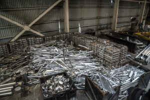 Recyclage châssis aluminium